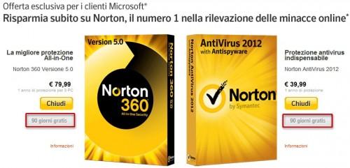 antivirus,promozioni